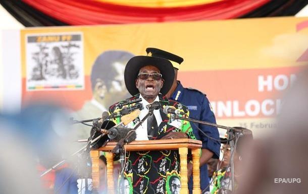 У Зімбабве скинули Мугабе зпоста голови правлячої партії