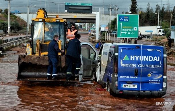 Наводнение в Греции: число погибших возросло до 20