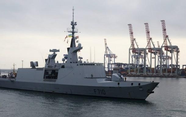 Французский ракетный фрегат- невидимка  вошел в Черное море