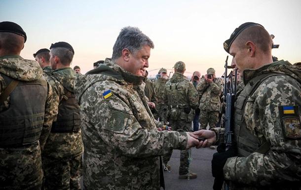Порошенко: Українська армія має відповідати стандартам НАТО