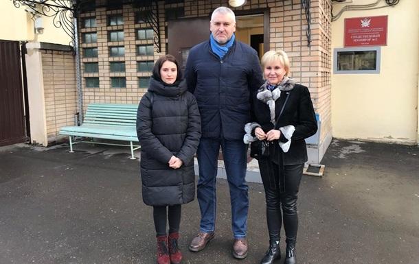 Заарештований в РФ український журналіст Сущенко зустрівся з рідними