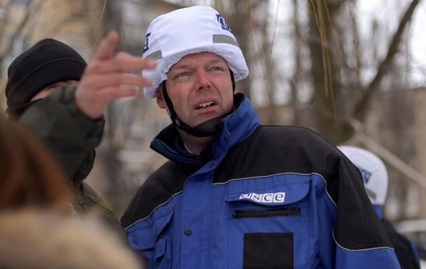 Хуг обговорив з Плотницьким роботу СММ ОБСЄ на Донбасі