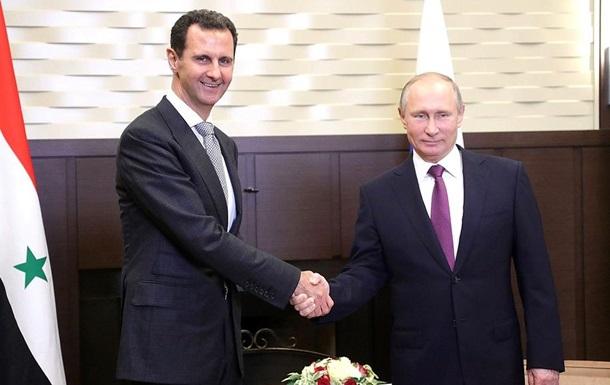 Путін: РФзавершує військову операцію вСирії