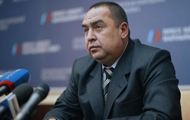 Плотницкий прокомментировал события в Луганске