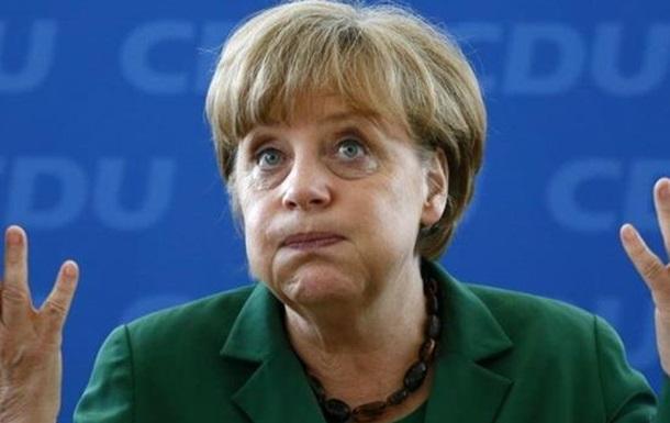 Меркель указали на дверь?