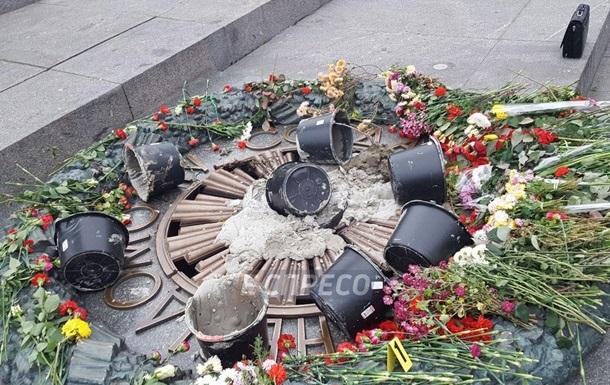 У Києві біля Вічного вогню виставлять караул з ветеранів АТО