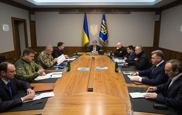 Порошенко провів засідання військового кабінету РНБО