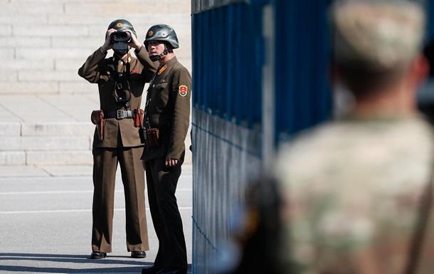 Появилось видео побега военного из КНДР в Южную Корею