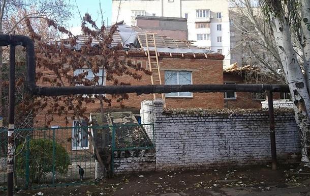 В Николаеве затопило детский сад