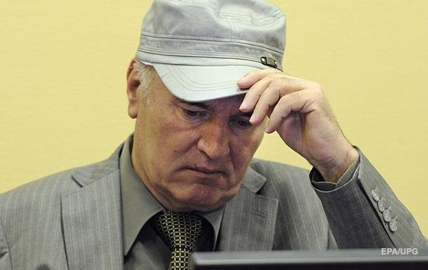 Генерал Младич приговорен к пожизненному заключению