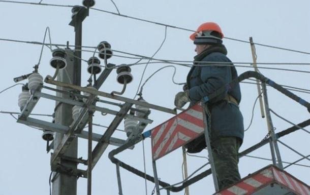 На Луганщині без світла залишилися 20 тисяч абонентів