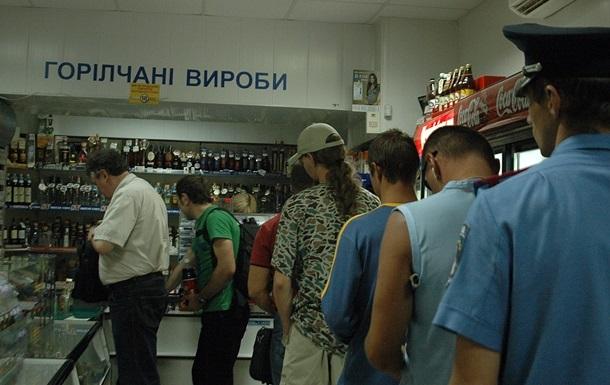 Украина всередине осени сократила производство водки на15,8%