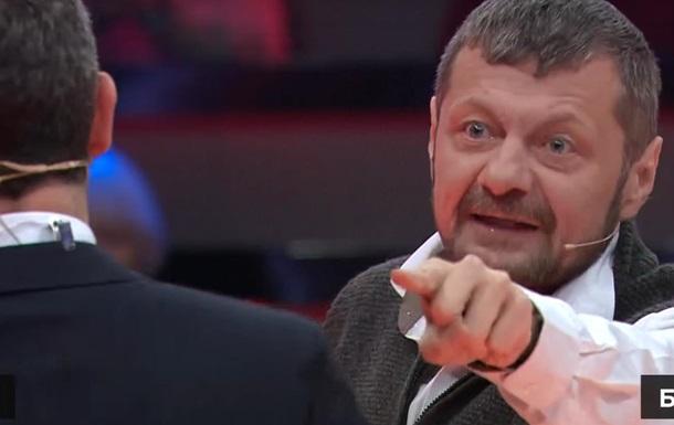 Мосийчук накинулся на Саакашвили из-за спора о Бандере