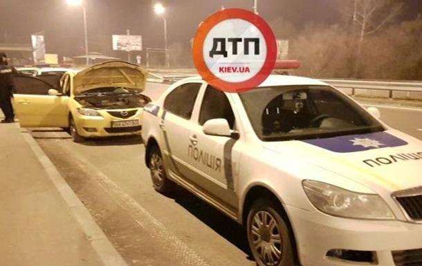 У Києві поліція влаштувала гонитву за викрадачем авто