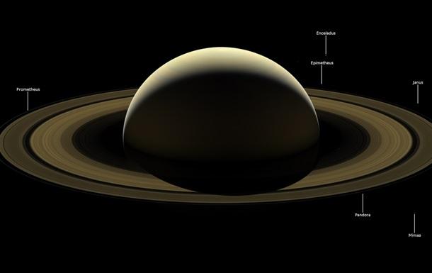 NASA показало  прощальний  знімок Сатурна від Cassini