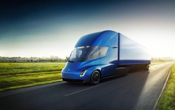 Названо приблизну вартість вантажівки Tesla