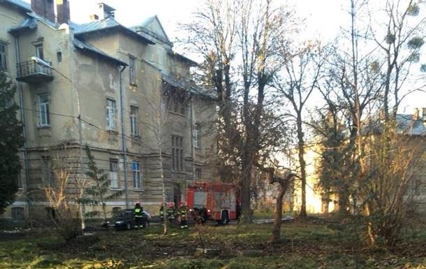 У Львові горіла психіатрична лікарня