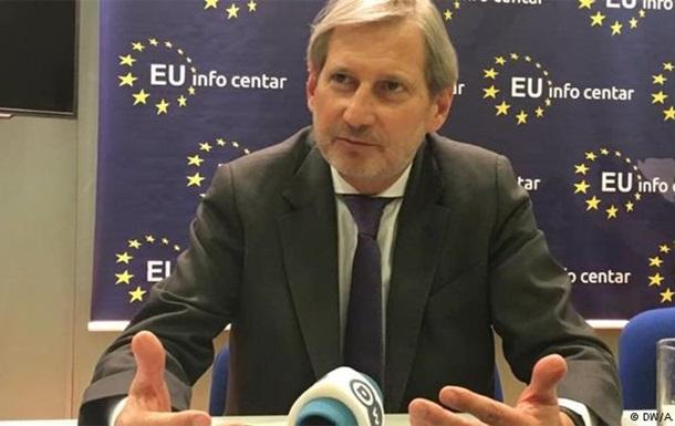 Єврокомісар Хан розкритикував ідею інвестиційного плану для України