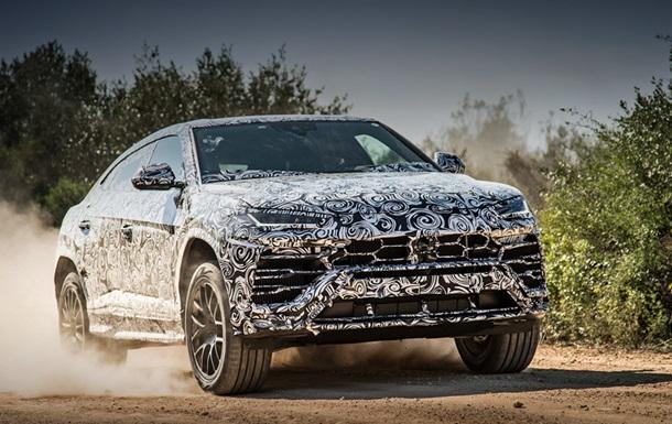 Мережа показала секретний позашляховик Lamborghini