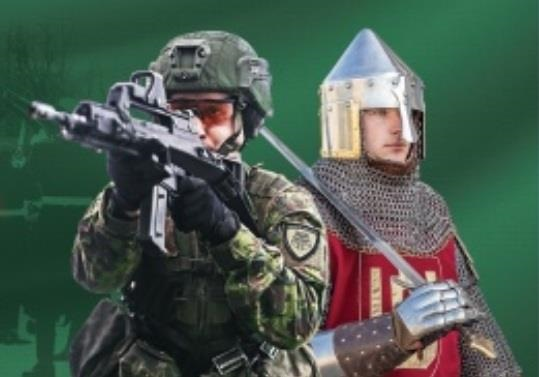 Парад НАТО под знаменами исторической Беларуси