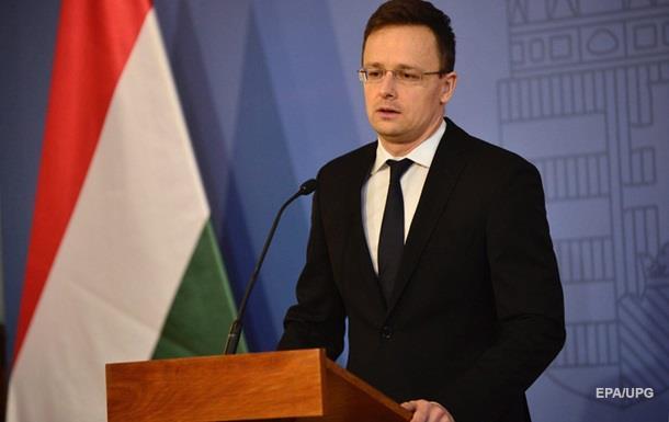 Угорщина не підтримає курс України в НАТО і ЄС