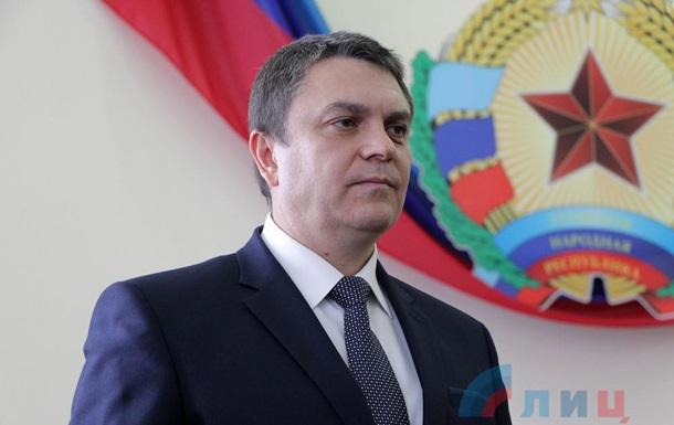 Пасечник вступил в должность и.о. главы ЛНР