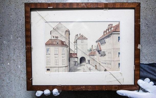 У Голландський інститут потрапила картина Гітлера, куплена за 75 центів