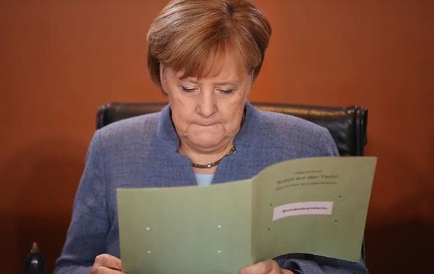 Меркель виступила проти нових виборів у Німеччині