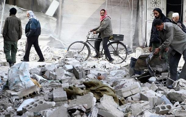 Унаслідок авіаударів у Сирії загинуло щонайменше 57 осіб