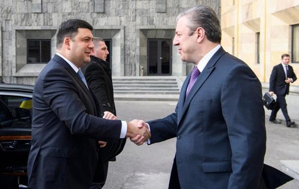 Гройсман сподівається збільшити товарообіг з Грузією удвічі