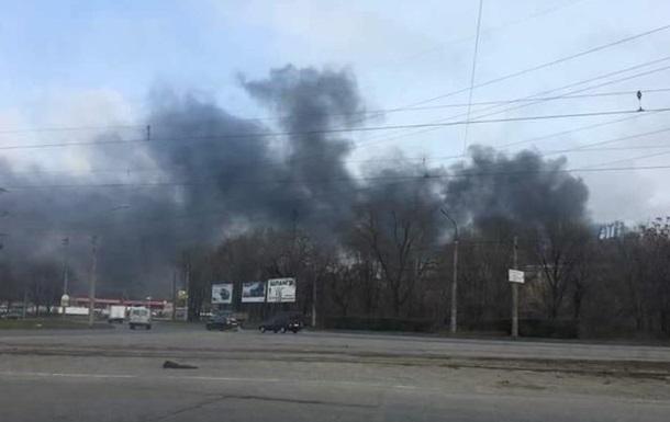 На Запорожкоксе произошел пожар