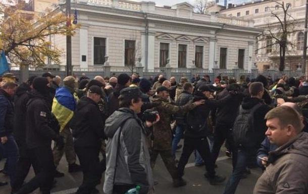 Протест под Радой: что делать дальше с Саакашвили?