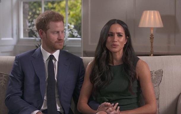 З явилося перше інтерв ю принца Гаррі та його нареченої