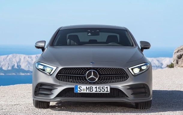 У Мережі розсекретили новий Mercedes-Benz CLS
