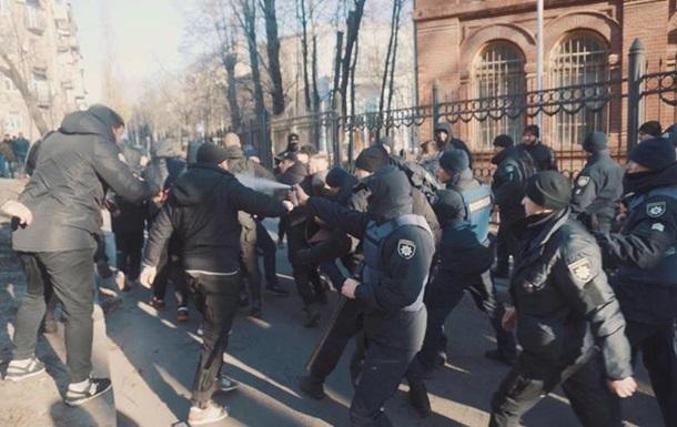 У Харкові активісти розгромили знімальний майданчик