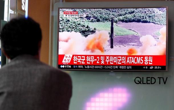 Ракета КНДР упала у побережья Японии