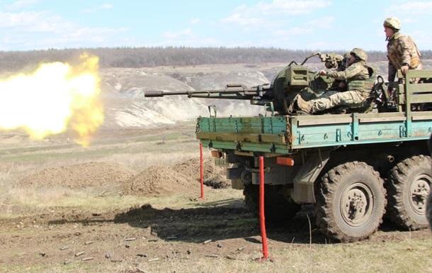 У зоні АТО 27 обстрілів, загинув боєць - штаб