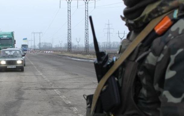 На Донбасі обстріляли КПП Майорськ - Жебрівський