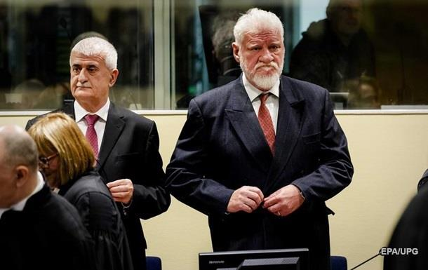 Хорватський генерал заявив, що прийняв отруту на суді в Гаазі