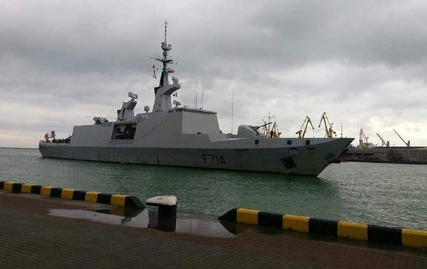 В порт Одессы прибыл корабль ВМС Франции