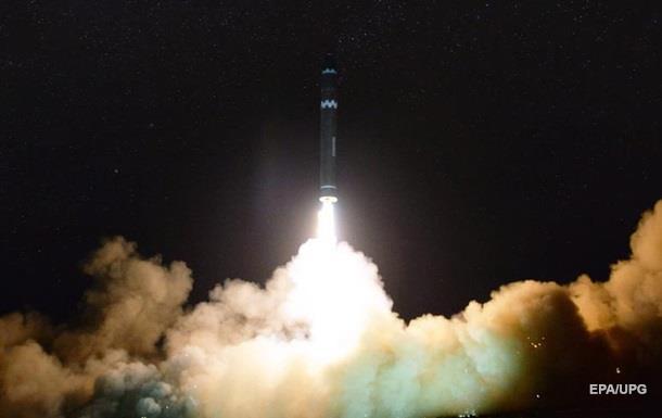 Опубликовано видео запуска ракеты в КНДР