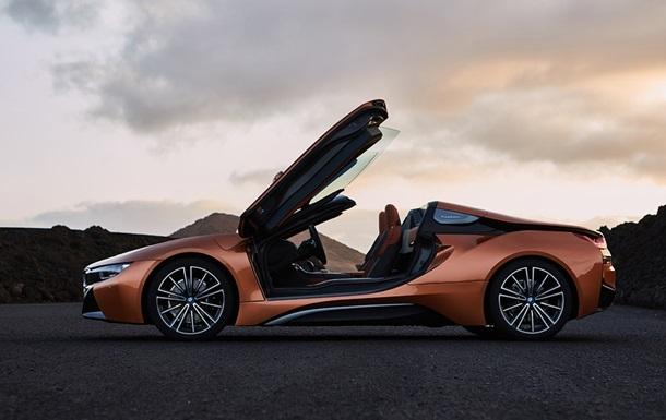 BMW показала гібридний спорткар BMW i8 Roadster