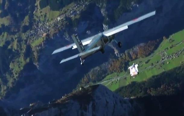 Французы прыгнули  звездочкой  с 4000 метров