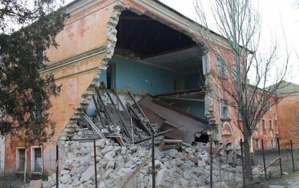 В Керчи обрушилось здание Морского госуниверситета