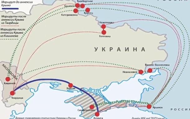 Журналіст: Винороби з Молдови наторгували з Кримом на мільйон євро