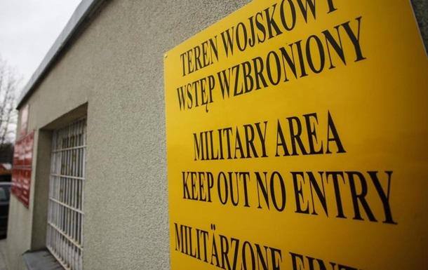 На военной базе в Польше произошла стрельба