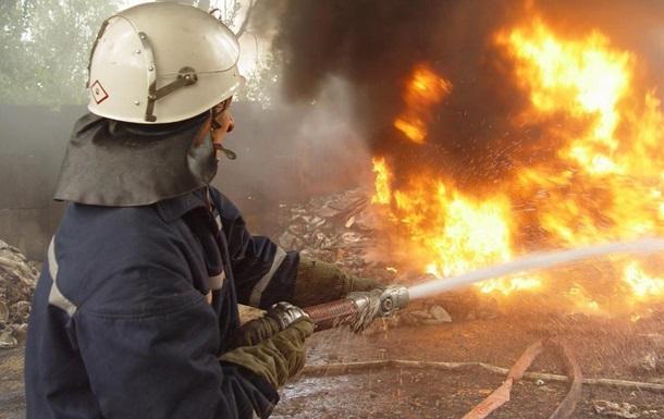 В Харькове произошел пожар в жилом доме, пострадали дети