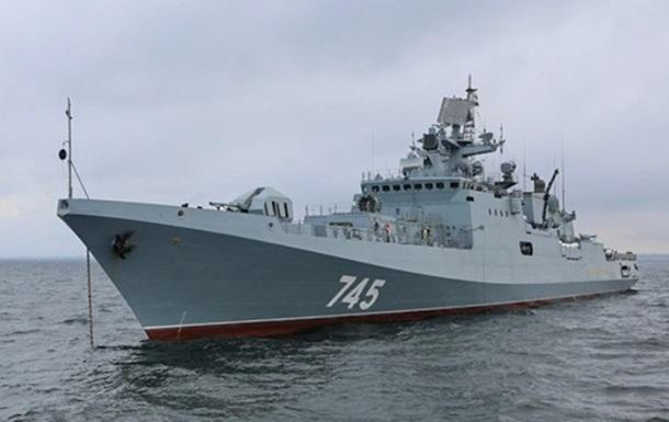РФ направила в Средиземное море фрегат с крылатыми ракетами
