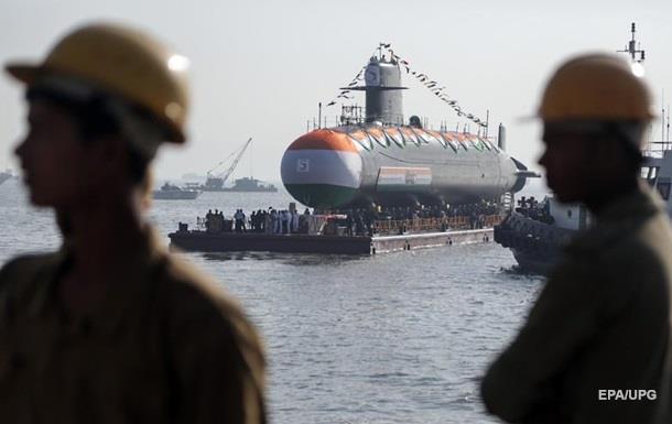 Індія запустила проект зі створення шести атомних підводних човнів