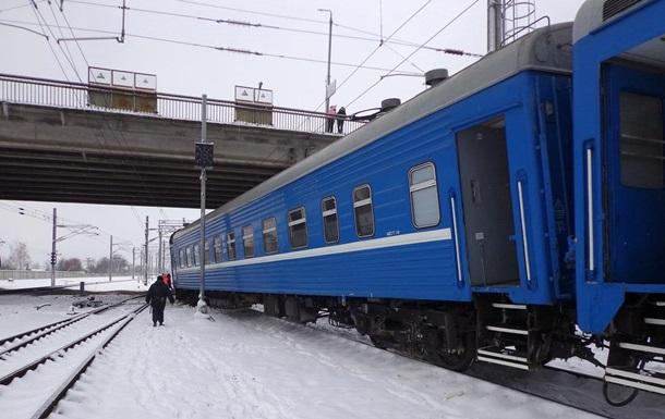 В Беларуси сошел с рельсов поезд Минск-Запорожье